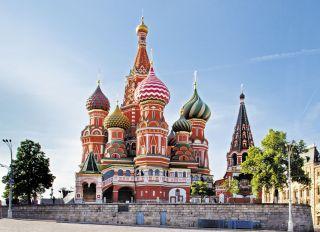 Почтовая открытка Храм Василия Блаженного