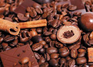 Почтовая открытка Кофе и шоколад