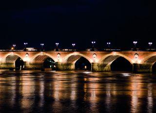 Почтовая открытка Мост в Бордо