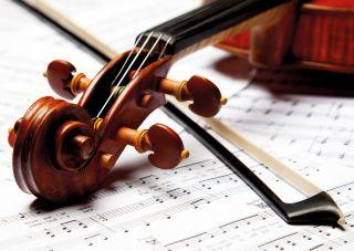Почтовая открытка Симфония в музыке