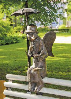 Почтовая открытка Петербургский ангел в Измайловском саду