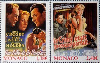 Почтовая открытка Monaco - Фильмы с Грейс Келли