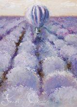 Почтовая открытка Лиловый ветер